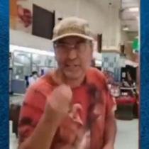 Hombre increpado por estar sin mascarilla en supermercado es vicepresidente DC de Talca: partido no lo sancionará