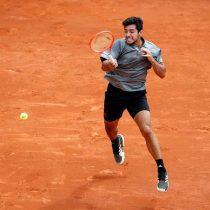 Cristian Garín tuvo una destacable jornada avanzando en singles y dobles del Master 1000 de Montecarlo