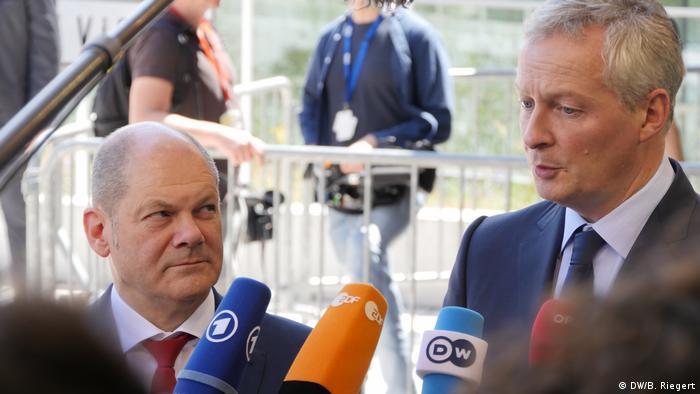 Francia y Alemania respaldan el impuesto de sociedades global propuesto por Washington