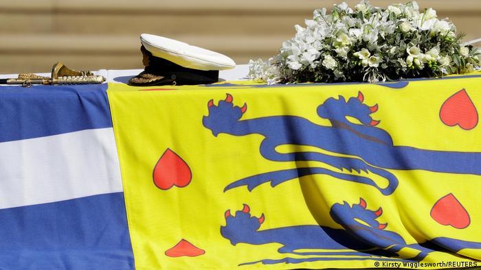 La realeza británica despide al príncipe Felipe de Edimburgo