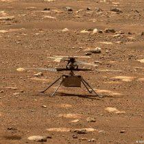 Helicóptero Ingenuity hace historia y vuela sobre Marte