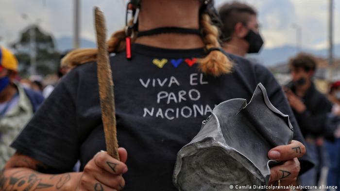 Colombia: un muerto en masivas protestas contra el gobierno de Iván Duque