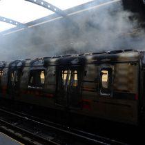 Condenan a dos años de cárcel a autores de incendio que afectó a Metro La Granja en el 18-O