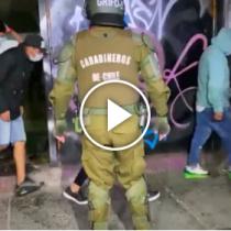 67 detenidos tras fiesta clandestina en Quinta Normal: asistentes agredieron a Carabineros