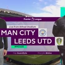 Bielsa sorprende a Guardiola y el Leeds vence al City por 2 a 1