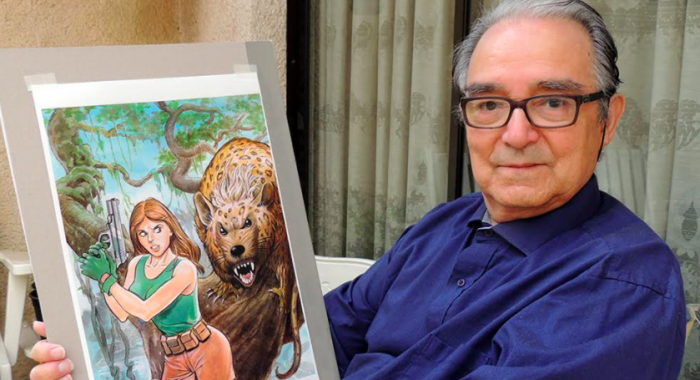 Lincoln Fuentes: de vuelta al cómic, 45 años después