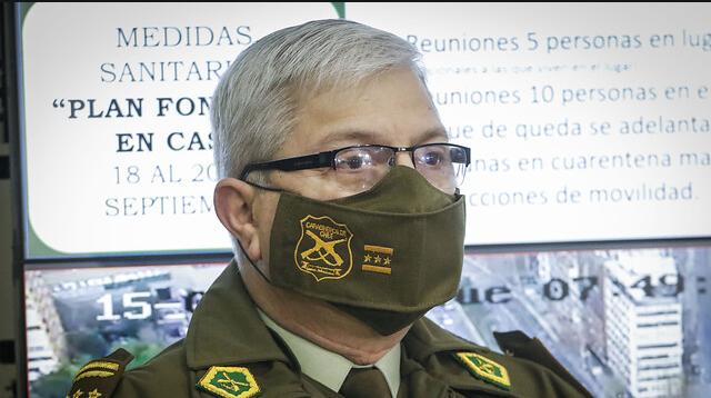 La preocupante visión del general director Ricardo Yáñez sobre la reforma a Carabineros