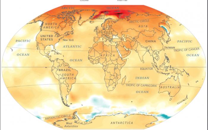 Cambio climático: un reto para la civilización humana