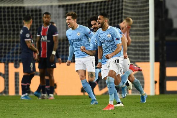 Manchester City supera al PSG y queda más cerca de la final de la Champions League