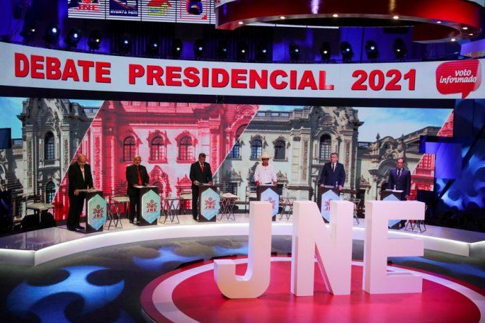 ¿Quiénes son los candidatos que pugnan por pasar a la segunda vuelta en Perú?