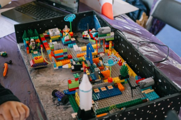 Exposición de robótica para niños
