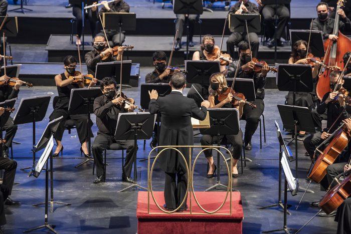 Concierto de la Orquesta Filarmónica de Santiago
