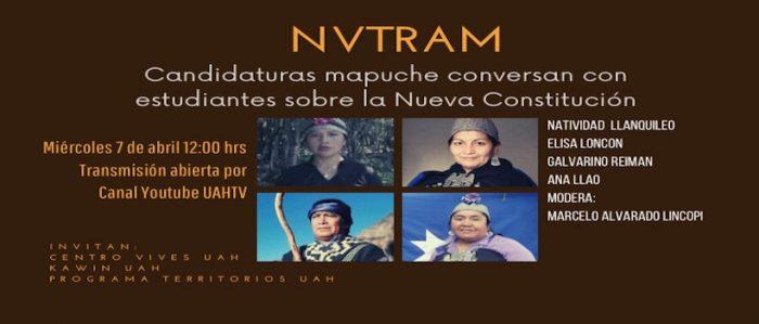 Conversatorio con candidaturas mapuche sobre la Nueva Constitución