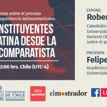 [EN VIVO] Procesos constituyentes en América Latina desde la perspectiva comparatista