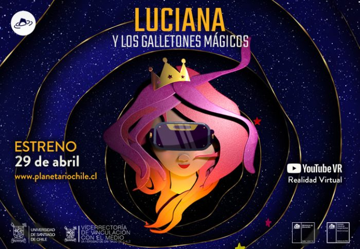 """Cortometraje """"Luciana y los Galletones Mágicos"""""""