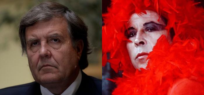 """""""No te pego porque tenís Sida"""": el tenso encuentro y los dichos homofóbicos del recién designado ministro Patricio Melero a Pedro Lemebel"""