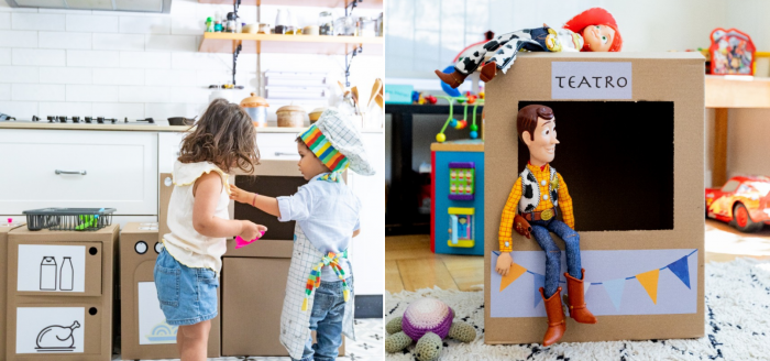 Juegos con sentido: la caja que busca fomentar el desarrollo y la imaginación en la niñez a través del juego
