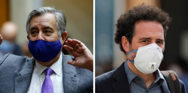 """El round tuitero entre el senador Guillier y Hernán Larraín Matte: """"Si yo estuviera en La Moneda no habría cientos de ojos mutilados"""""""