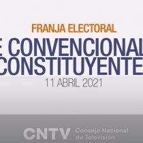 """CNTV entrega balance de la franja electoral de constituyentes: alto rating pero un 38% dice que """"no hay mucha claridad en los mensajes"""""""