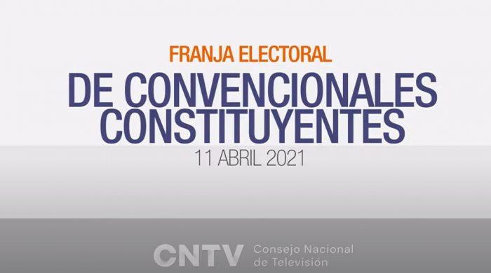 CNTV entrega balance de la franja electoral de constituyentes: alto rating pero un 38% dice que