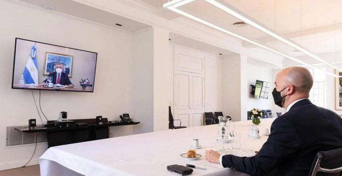 Presidente Alberto Fernández le dice a enviado especial de Joe Biden que en Argentina
