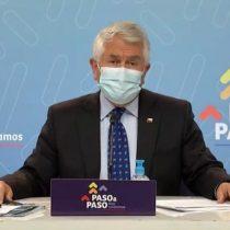 """Ministro Paris afirma que el Gobierno """"no está llegando tarde con la ayuda"""" económica para las familias y destaca reconocimiento internacional"""