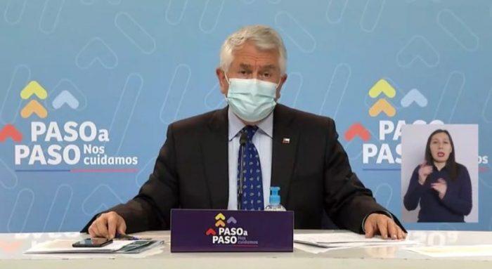 Ministro Paris afirma que el Gobierno
