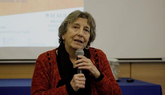 Ex ministra de Salud María Soledad Barría:
