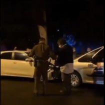 Candidato a concejal pro UDI de Curicó fue detenido luego de protagonizar choque en toque de queda bajo estado de ebriedad