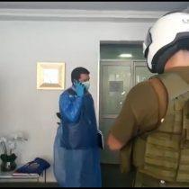 Detienen a 19 personas en clínica estética de Providencia: había operación en desarrollo