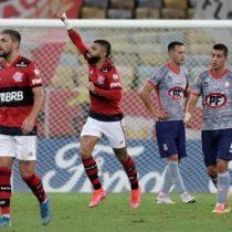 Unión La Calera sufrió una dura goleada en su visita ante Flamengo por la Copa Libertadores
