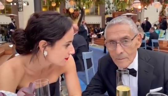 """Don Sergio de """"El Agente Topo"""" participó en el corto final de la ceremonia de los Premios Óscar"""