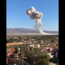 Fuerte explosión en planta de Enaex ubicada en Calama: hay dos heridos y empresa iniciará investigación