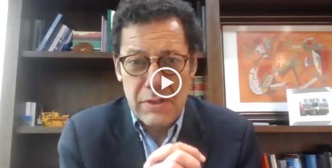 """Joaquín Villarino en La Mesa: """"El actual régimen jurídico de la minería ha permitido que Chile sea el primer productor de cobre del mundo"""""""