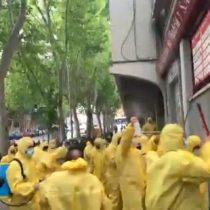 Hinchas del Rayo Vallecano sanitizaron su estadio tras presencia de líderes ultraderechistasen partido de la Segunda División de España