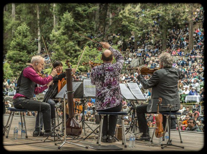 Ensamble de cuerdas estadounidense Kronos Quartet en Teatroamil.tv