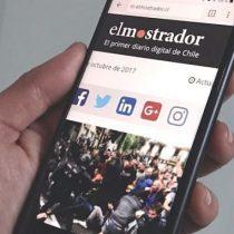 Covid-19: estudio académico destaca que El Mostrador fue el medio más citado en redes sociales