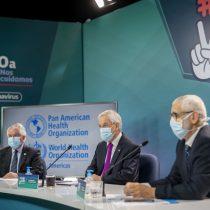 Presidente Piñera encabeza foro con director general de la OMS:
