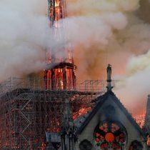 Macron visita la catedral de Notre Dame en el segundo aniversario de su incendio