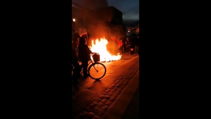 Manifestaciones en Punta Arenas: caceroleos y barricadas por ingreso del tercer retiro del 10% al TC