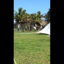 Rapa Nui: manifestantes se toman aeropuerto ante llegada de avión con gente foránea a la isla
