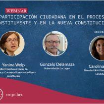 [EN VIVO] Participación ciudadana en el proceso constituyente y en la nueva Constitución