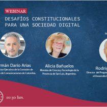 [EN VIVO] Desafíos constitucionales para una sociedad digital