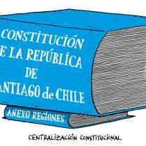Ilustrador Alen Lauzán reflexiona sobre la regionalización en nueva Constitución