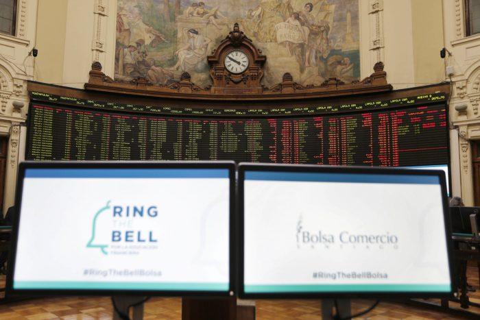 Otra jornada positiva para la Bolsa de Santiago tras anuncio de IFE universal e implementación de