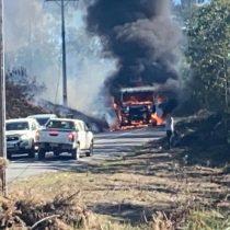 Ataques incendiarios en La Araucanía deja un saldo de 20 vehículos quemados: Corma pide reunión con el Ministerio del Interior