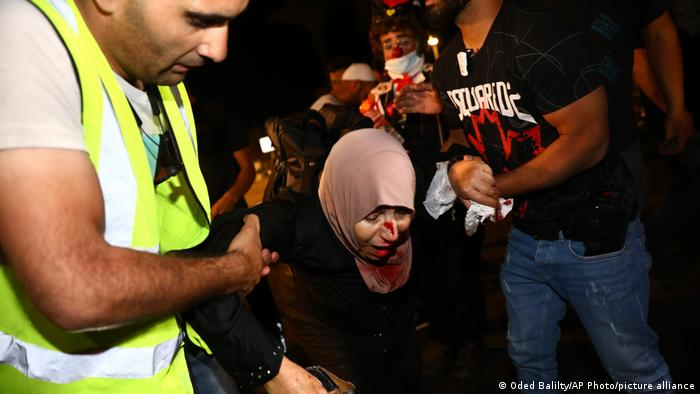 Nueva jornada de violencia en Jerusalén deja más de 90 heridos