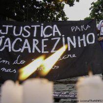 Miles de personas protestan en Brasil contra el racismo y la violencia policial