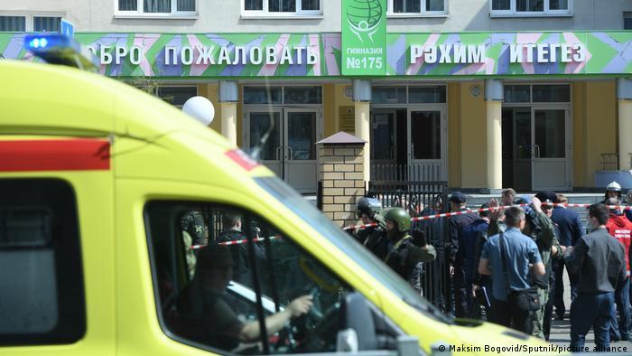 Tiroteo en una escuela en Rusia registró al menos ocho fallecidos y 20 heridos