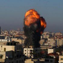 El Ejército israelí efectuó cinco bombardeos durante la noche sobre Gaza